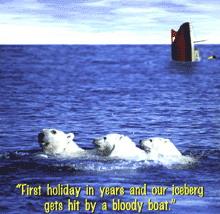 die Titanic-Metapher auf den Kopf gfestellt